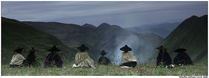 The Bimo Records', shot by Yang Rui, in the Dailiang Mountains of Sichuan, China in 2006; commendation for the Basil Wright Film Prize 2007